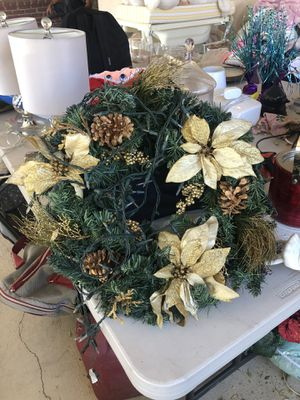 Christmas reef for front door for Sale in Los Angeles, CA