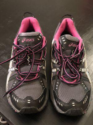 Women's ASICS gel pink/grey size 6 for Sale in Glendale, AZ