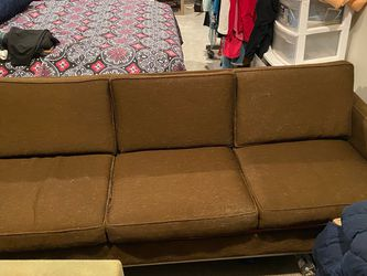 Brown 3 Seater Couch for Sale in Houston,  TX