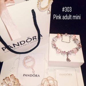 New Adult Pink Mini Mouse Pandora bracelet for Sale in Columbus, OH