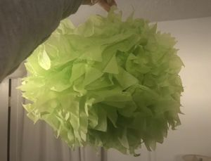 12'' Green Party Decor Poof for Sale in Sterling, VA