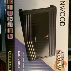 Amplifier Kenwood for Sale in Queens, NY