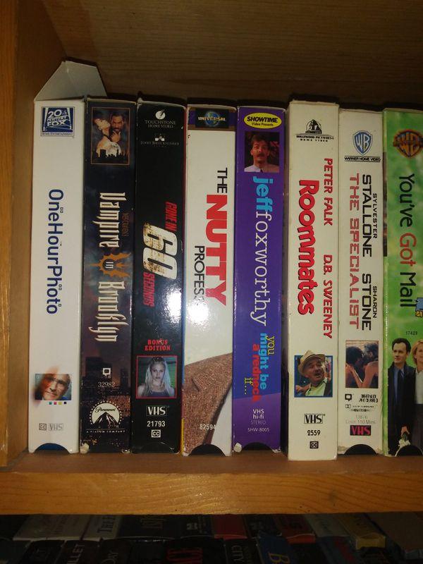 VHS movies