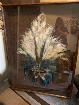 Feathered Mask/wall art for Sale in Raleigh, NC