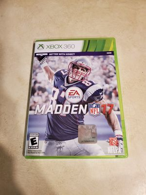 Madden nfl 17 for Sale in Eau Claire, WI