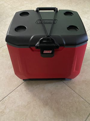 Coleman Rugged A/T Wheeled Cooler, 55 Quart for Sale in Miramar, FL