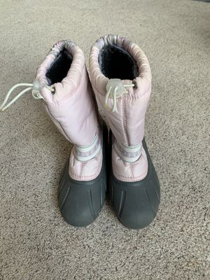 Sorel girls snow boots size 2 for Sale in Clackamas, OR