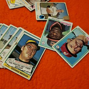1978 Mix Baseball Card Lot 25 Cards for Sale in La Puente, CA