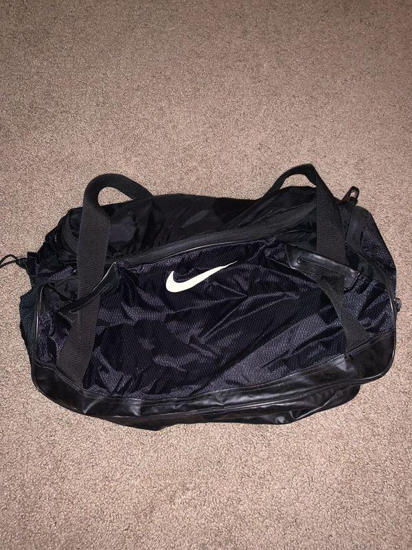 Nike Gym Travel Black Small Duffle Bag