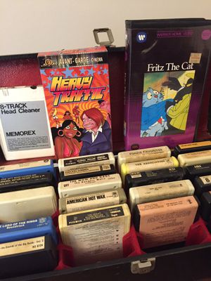 VHS and 8 Track Tapes for Sale in Damascus, MD