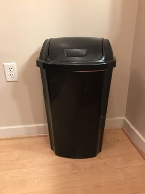 Tall Plastic Kitchen Trash Can for Sale in Washington, DC