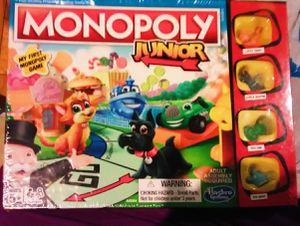 Monopoly Jr, table game, family game, board game for Sale in Los Angeles, CA