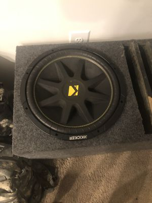 15' Kicker Subwoofer for Sale in Frederick, MD