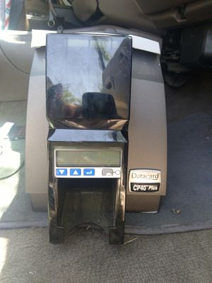 DataCard CP40 plus for Sale in San Angelo, TX