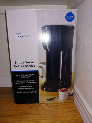 Single cup coffee maker- new for Sale in Port Orchard, WA