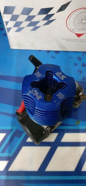 Os cvr max 18 nitro rc engine for Sale in Thomasville, NC