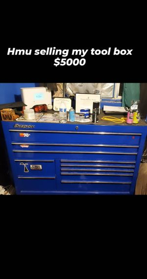 Snap on tool box for Sale in Muscoy, CA