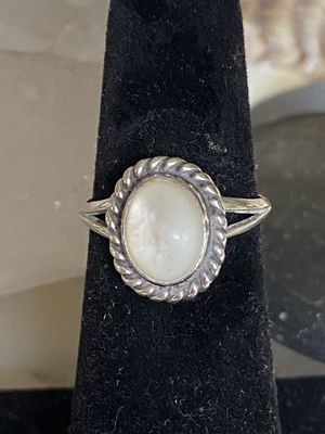 Vintage Native American Sterling Silver Moonstone Ring. Size 6 for Sale in Tampa, FL