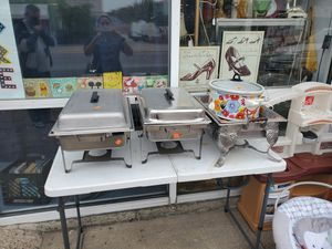Chafers food warmers for Sale in Dallas, TX