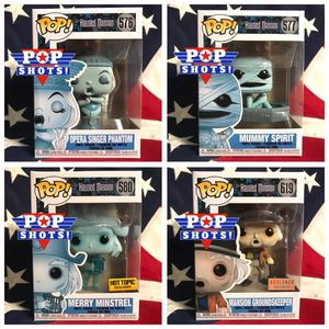 Disney's Haunted Mansion Funko Pop! 4-Pack for Sale in Milwaukie, OR