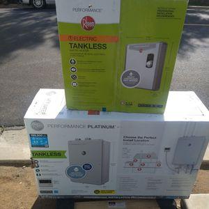Rheem Electric Tankless Water Heater for Sale in Oceanside, CA