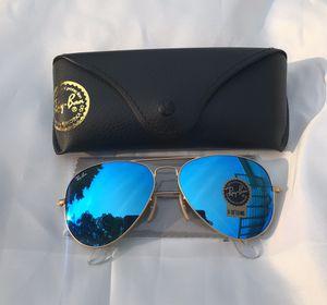 Ray ban Aviators 3025 Blue Sunglasses for Sale in San Francisco, CA