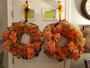 BEAUTIFUL CUSTOM DESIGN WINTER WREATHS for Sale in Independence charter Township, MI