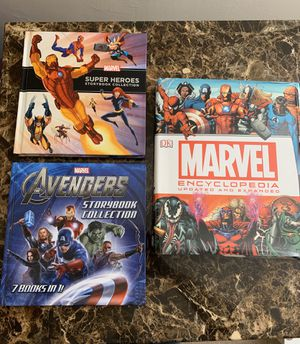 Marvel story book collection for Sale in Herndon, VA