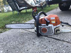 Stihl ms 362 chainsaw 20in bar for Sale in Dearborn, MI