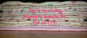Bundle- receiving blankets for Sale in PA, US