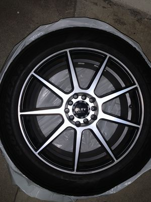 Ruff Racing Rims + Tires 17s for Sale in Monterey Park, CA