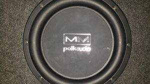 MM Polk audio Subwoofer for Sale in Portland, OR