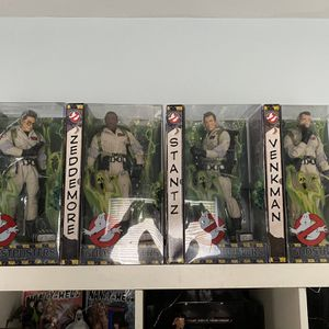 """12"""" Ghostbusters Collectible Figures. Rare From 2010 for Sale in Oak Park, IL"""