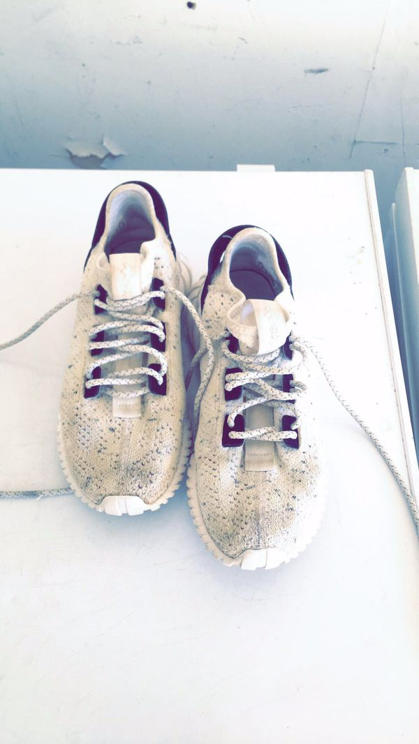 Adidas Ortholite Boost Sz 4 in womens. Comes with Free sz 7 Womens Vans