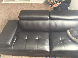 Two part sectional couch for Sale in Columbus, OH