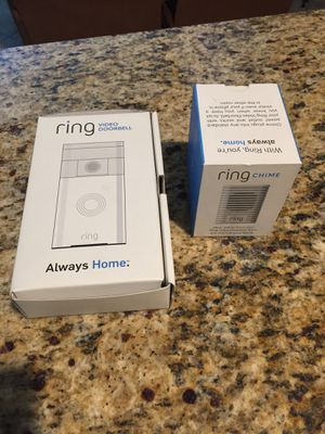 Ring video doorbell plus ring chime altogether for Sale in Scottsdale, AZ
