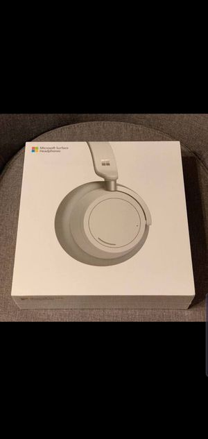 Microsoft surface headphones new in box for Sale in Bellevue, WA