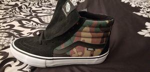 Vans sk8 hi camo mens size 9 shoe brand new for Sale in Riverside, CA