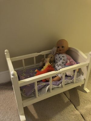 BabyDoll Cradle and Toy Set for Sale in Falls Church, VA