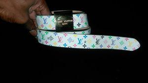 *Authentic* Louis Vuitton Multi-Color Belt!!!! for Sale in St. Louis, MO