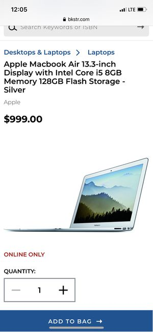 MacBook Air Brand New 13.3 inch 128GBS for Sale in UPR MAKEFIELD, PA