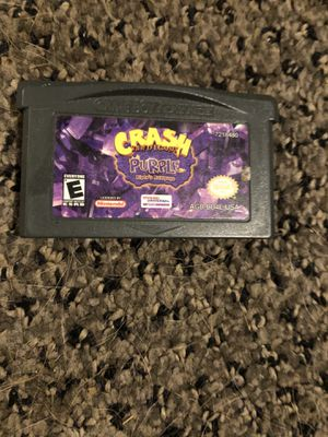 Crash Bandicoot GBA for Sale in Wichita, KS