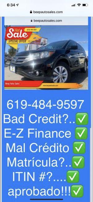 2013 Honda CR-V AWD We Finance Aqui financeamos for Sale in National City, CA