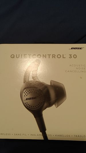 Bose Quiet Control 30 for Sale in Revere, MA