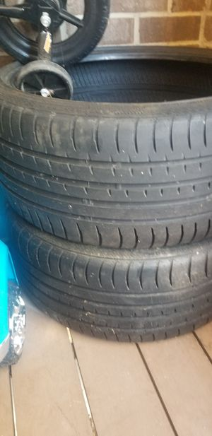1 pair of tires size 20 for Sale in Chelmsford, MA