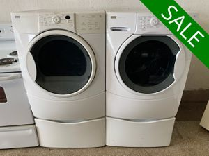 💥💥💥Kenmore Delivery Available Washer Electric Dryer Set Front Load #1436💥💥💥 for Sale in Towson, MD