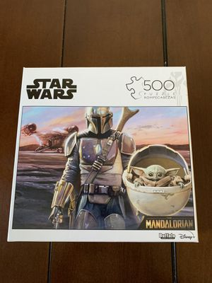 Star Wars the mandalorian baby yoda Buffalo Puzzle for Sale in City of Industry, CA