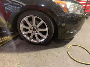 Honda accord rims 18 took them of from a cadillac 2019 for Sale in Queens, NY