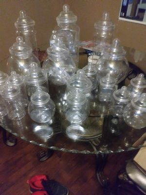 20 pc candy jars for Sale in Winter Haven, FL