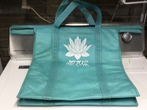 Lotus trolley bags for shopping for Sale in Pekin, IL